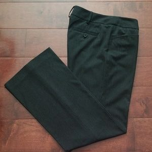 Michael Kors Grammercy Fit Stripped Pants Size 2P